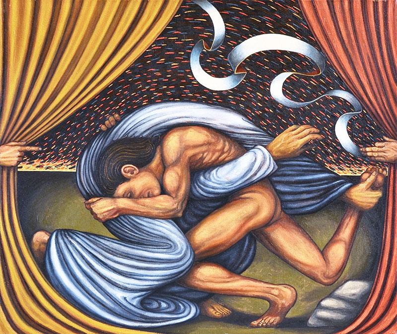 Jack Baumgartner - Jacob Wrestles the Angel